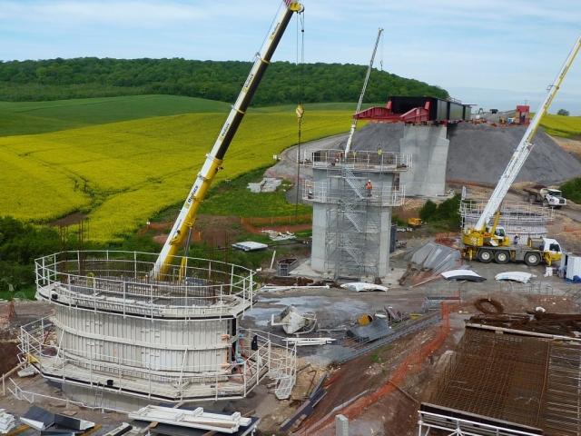 LGV EST Tronçon G Lot 35 - Viaduc