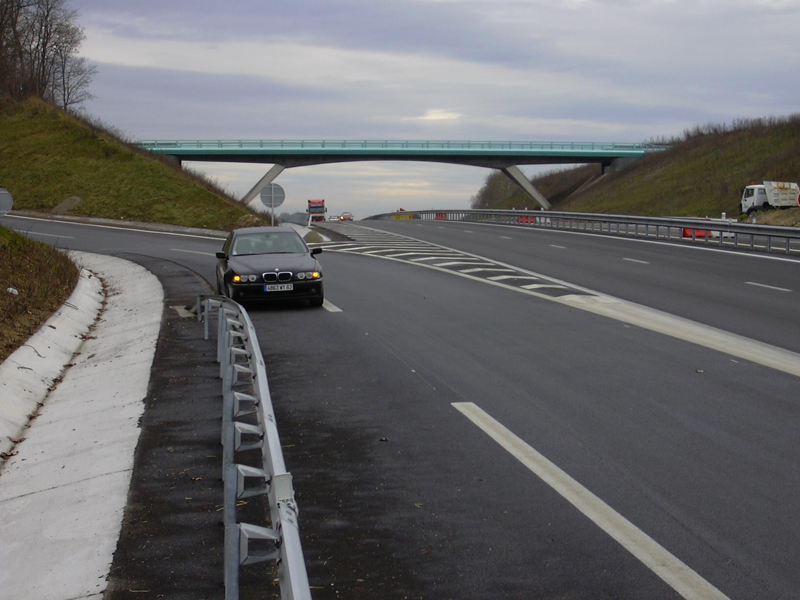 Pont à Béquille A77 Pouilly OA8