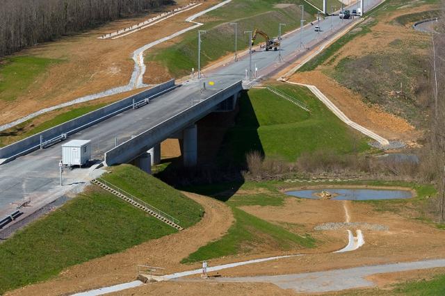 Pont Rail PRa 117+779 / LGV SEA Tours - Bordeaux (Crédit Photo demathieu & bard)
