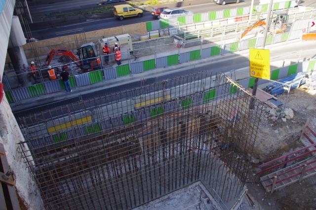 Elargissement Culée et Pile du Pont Rail SNCF de la Révolte Batignolles 75017 PARIS en bordure Boulevard Périphérique Intérieur - MIM Ingénieurs Conseils